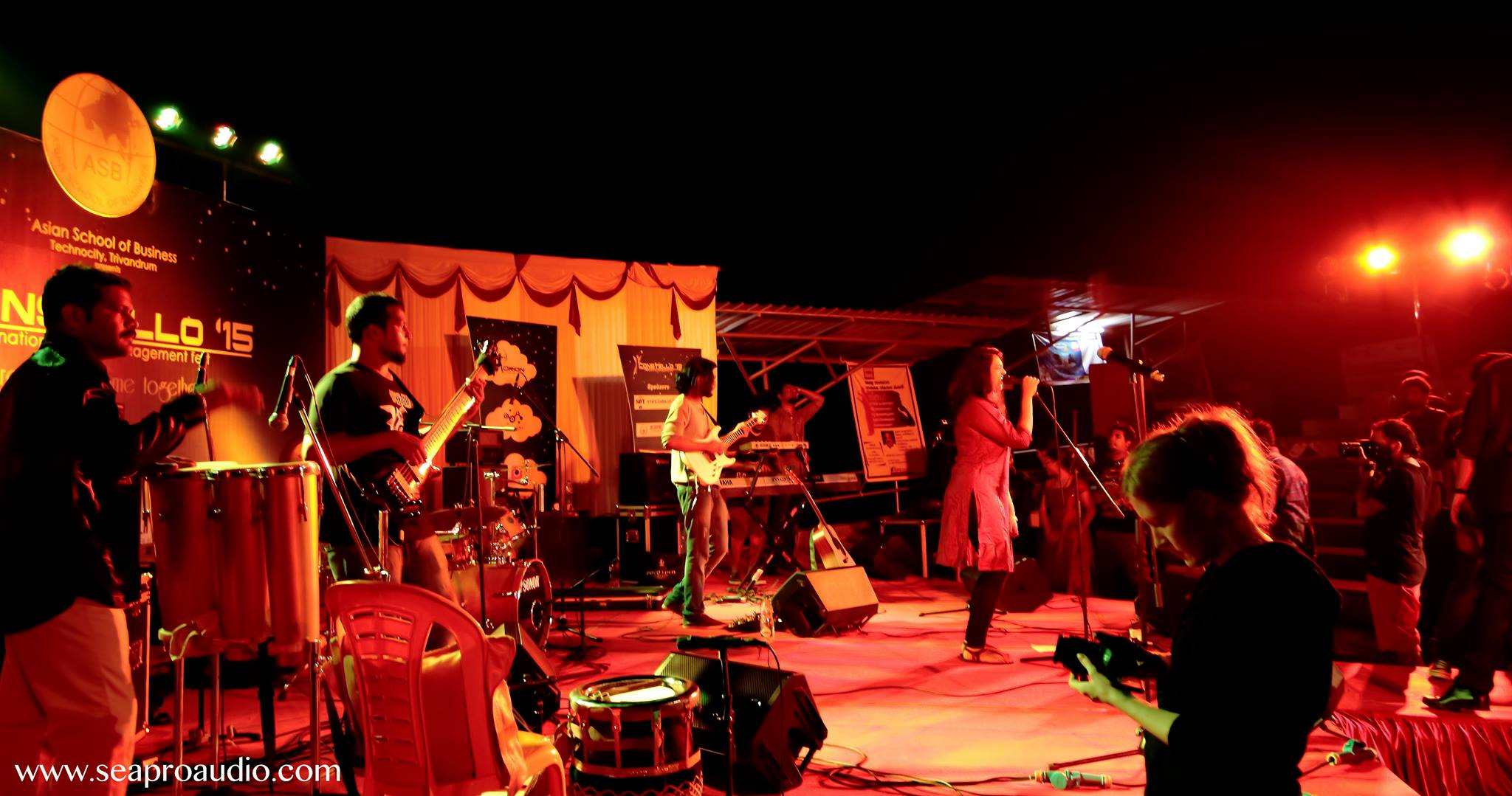 Vidwan band performing